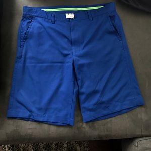 Mens IZOD Golf Shorts Size 36